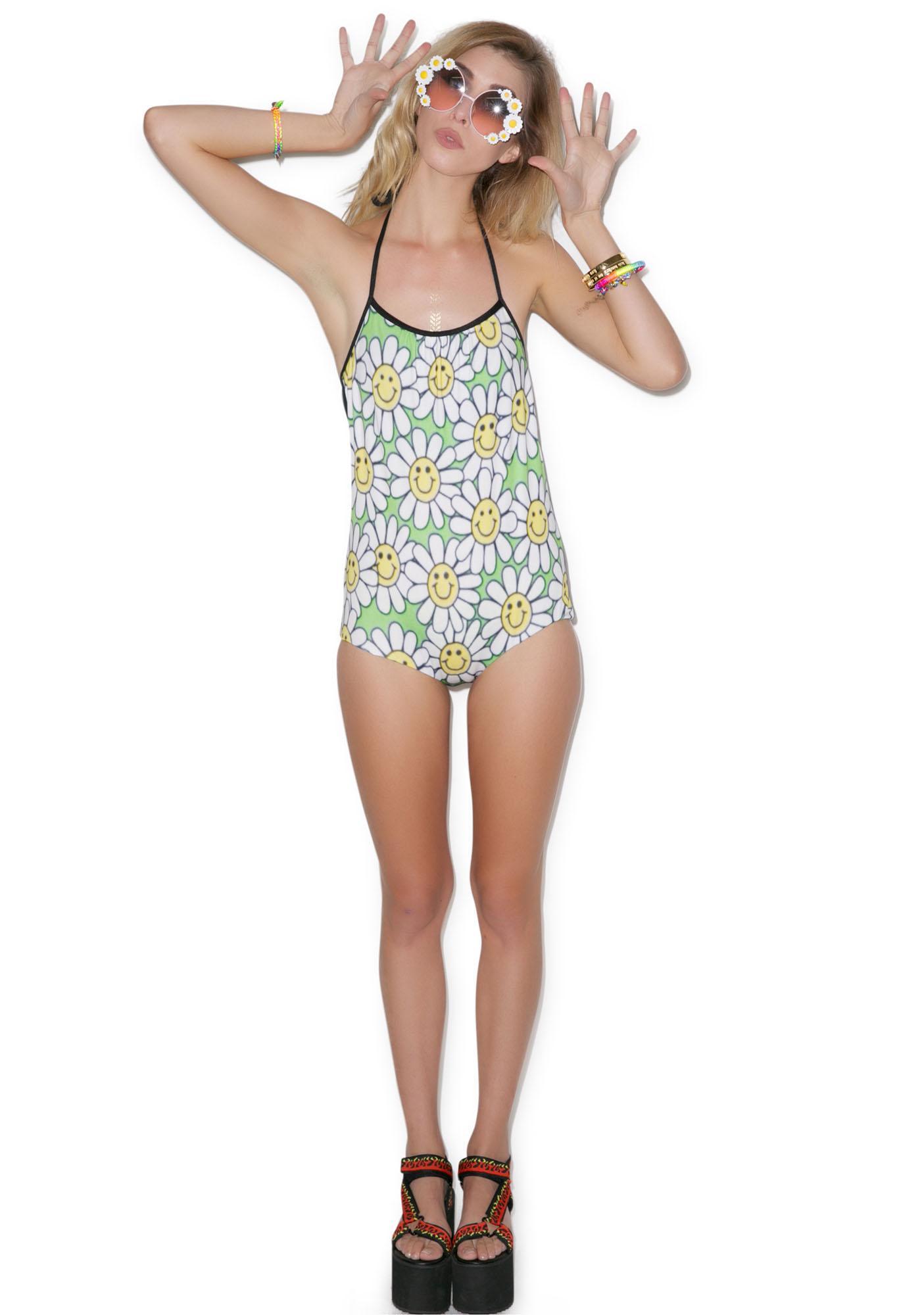 Let's Go Daisy Swimsuit