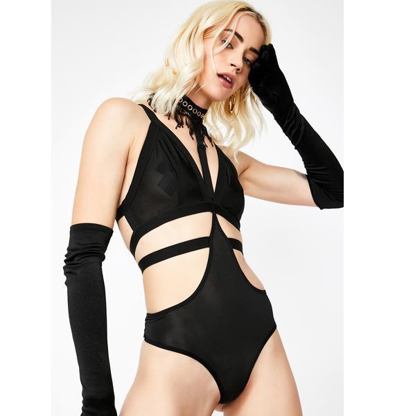 Do It Right Cut Out Bodysuit