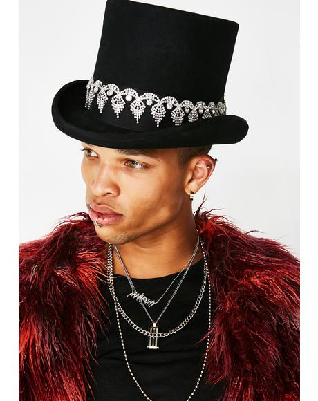 Party Attire Top Hat