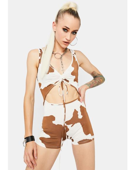 Western Wild Cut-Out Romper