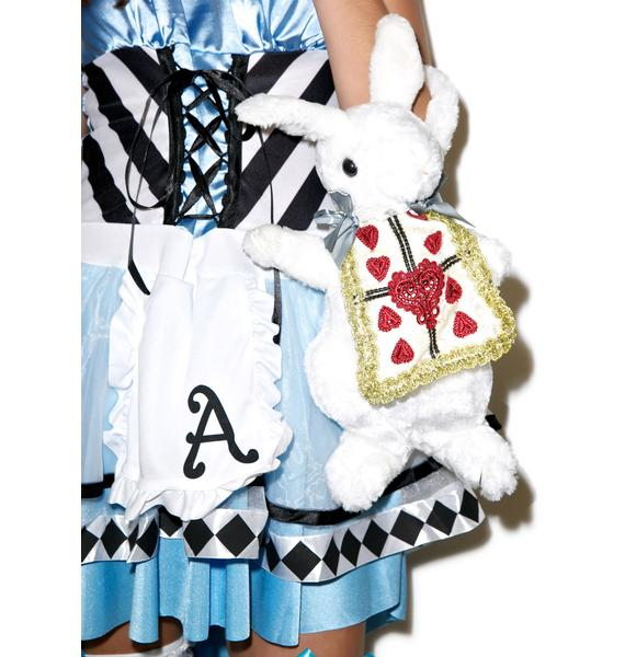Wonderland Rabbit Purse