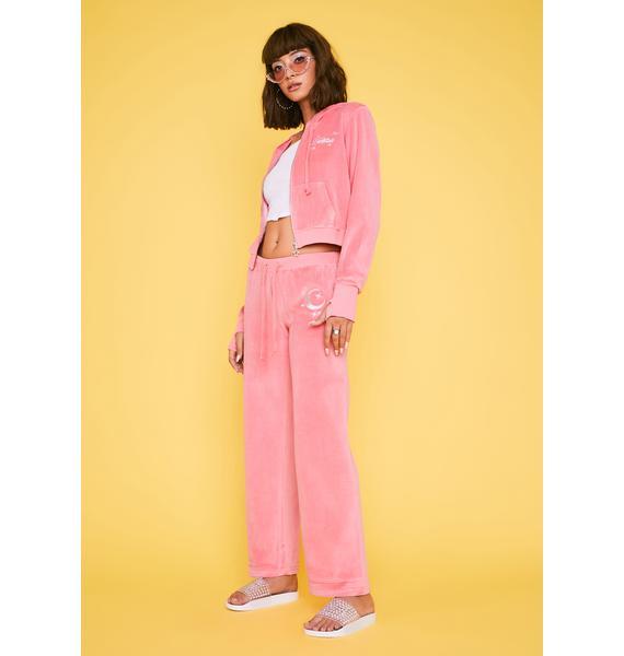 HOROSCOPEZ It's All Mellow Velvet Sweatpants