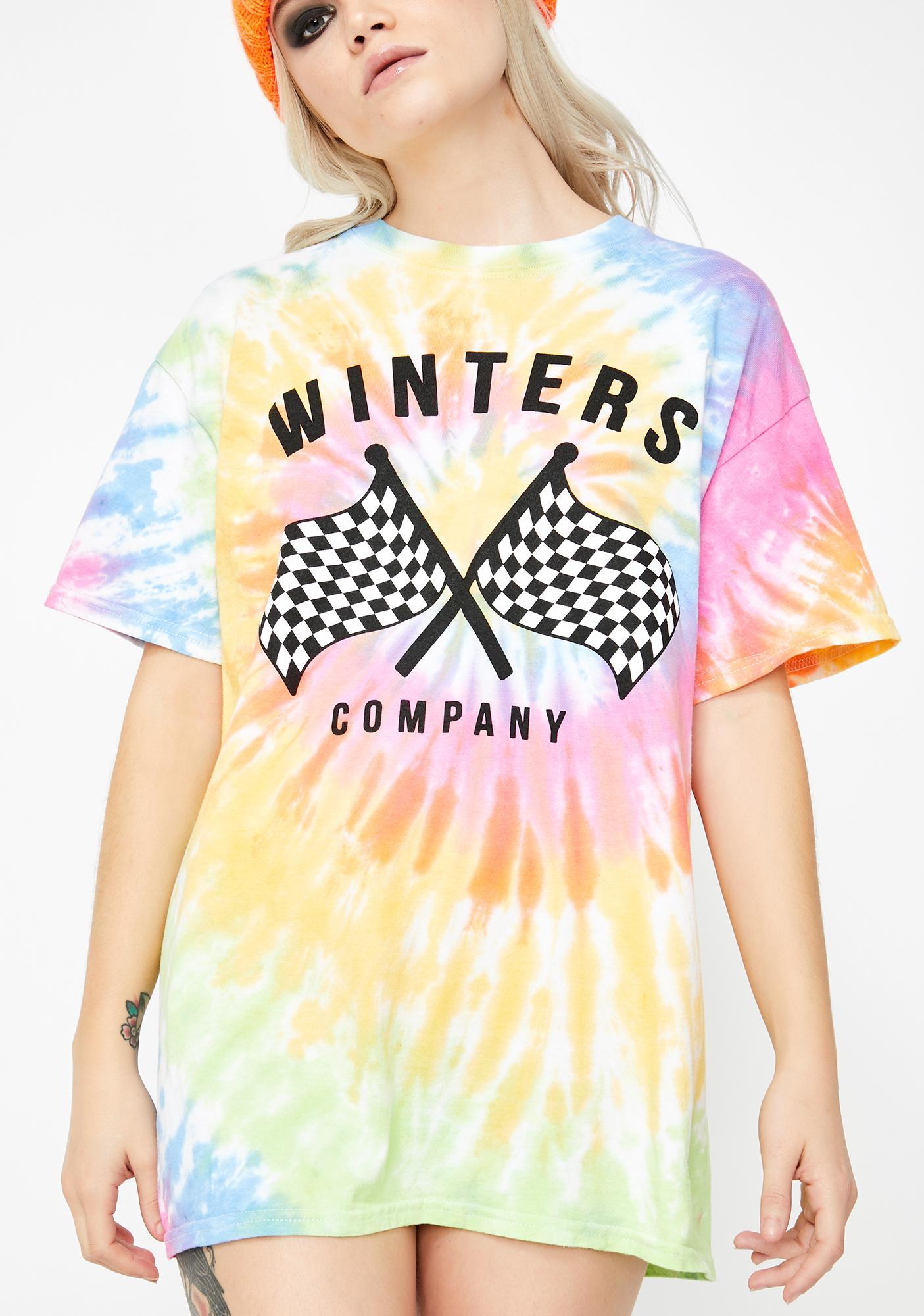 Winters Racing Tie Dye Tee