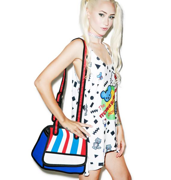 2D Style Cartoon Bag