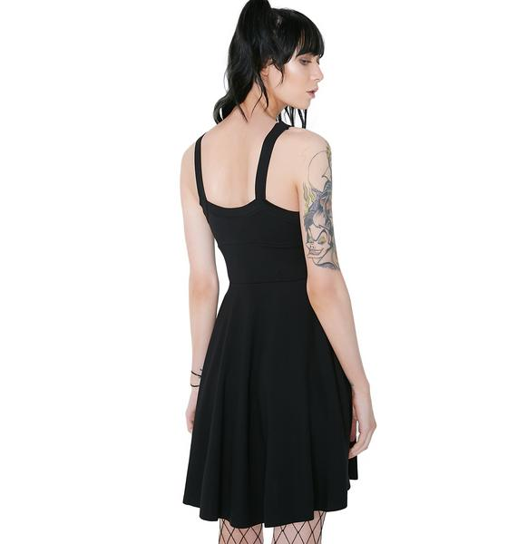 Killstar Cosmik Skater Dress