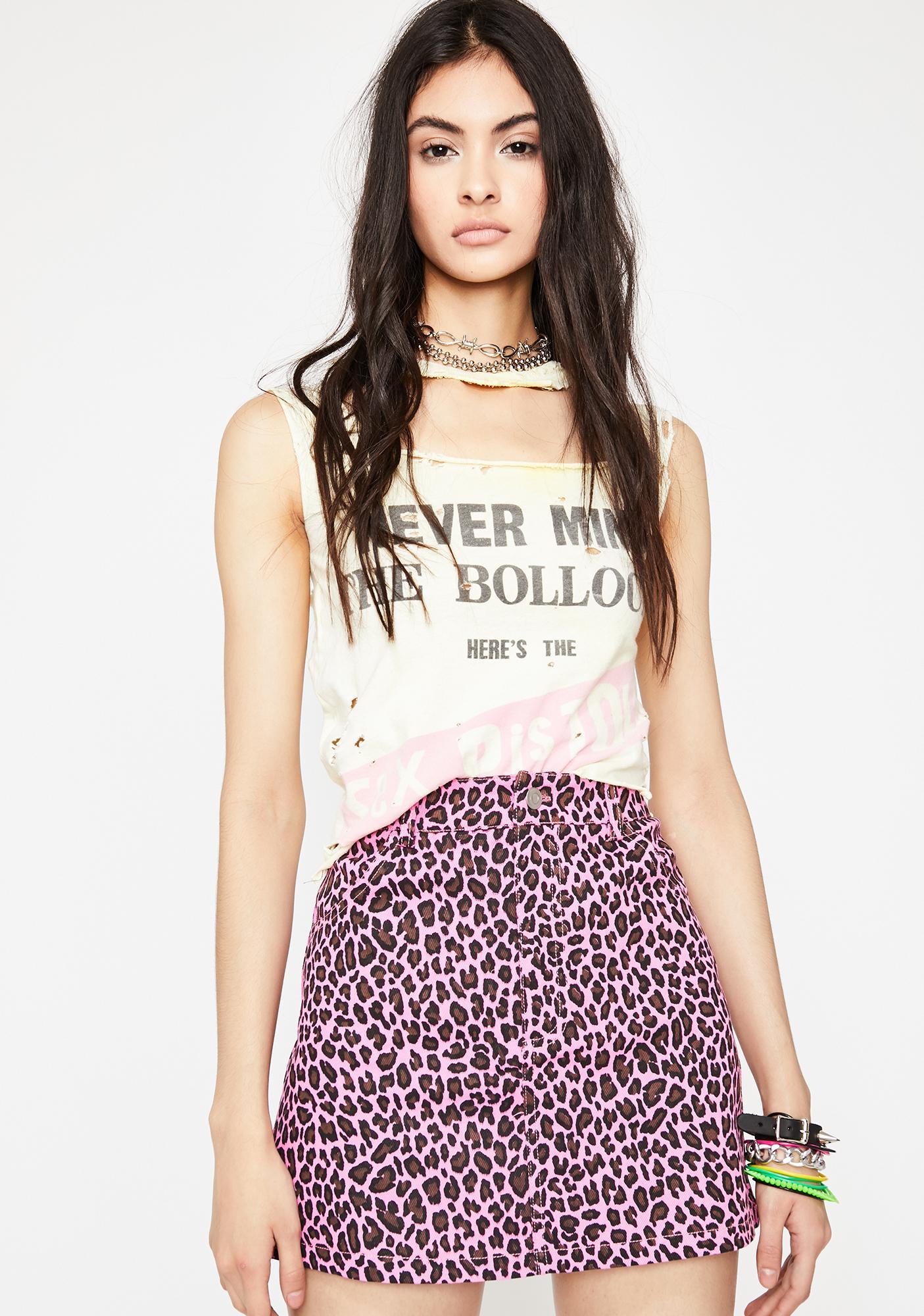 Stunt Kitten Leopard Skirt