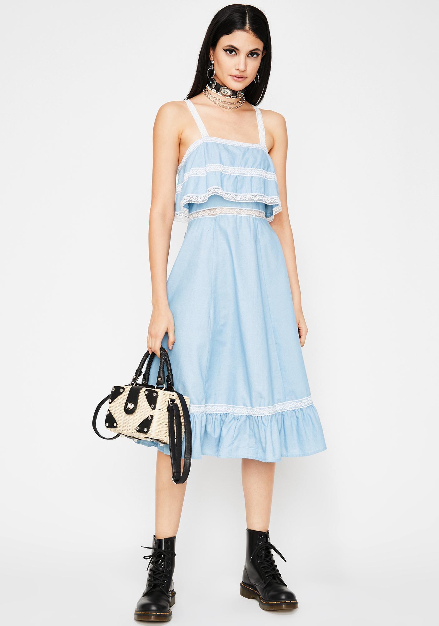 Field Day Midi Dress