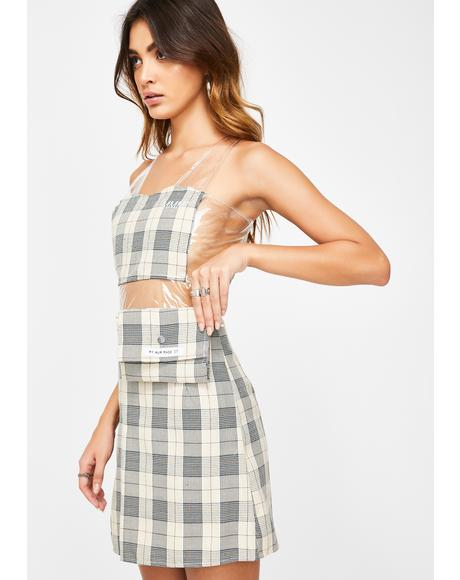 Plaid Cosmetics Case Dress