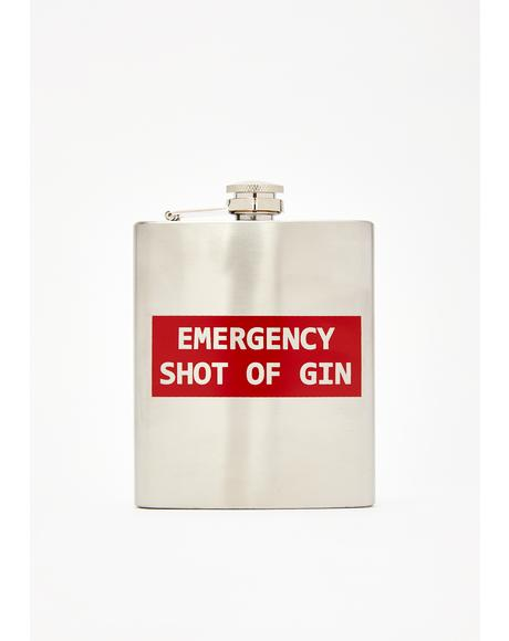 Emergency Gin Flask