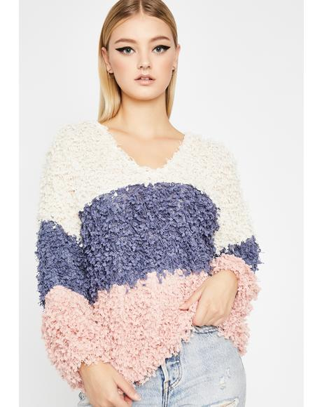 Sweet Delights Popcorn Sweater