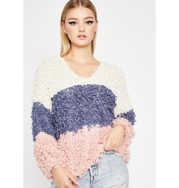 Sweet Delights Popcorn Sweater