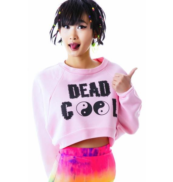 United Couture Dead Cool Cropped Sweatshirt