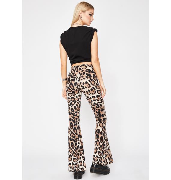 Bad Girl Club Leopard Pants