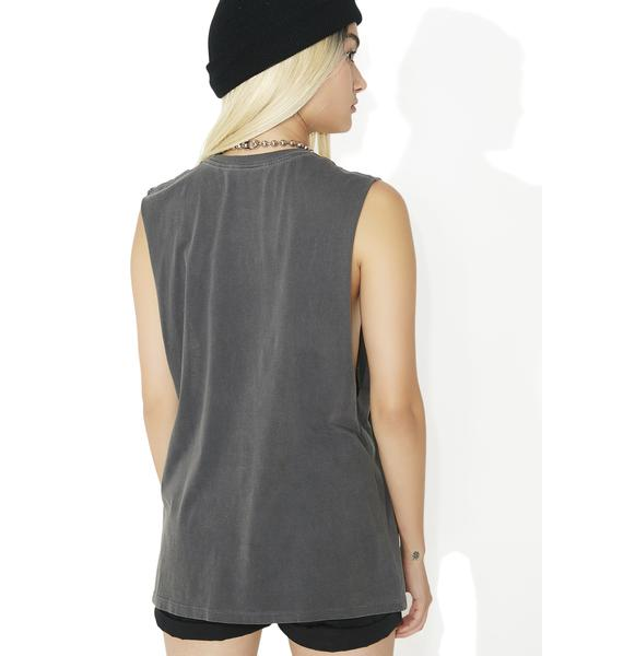 Obey Backwards Moto Tank