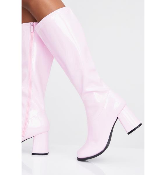 Psycho Candy Go-Go Baby Boots