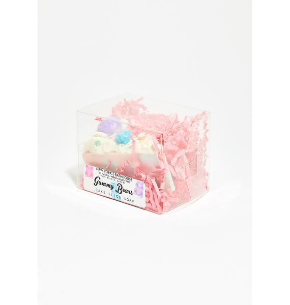New York's Bathhouse Gummy Bears Pie Soap