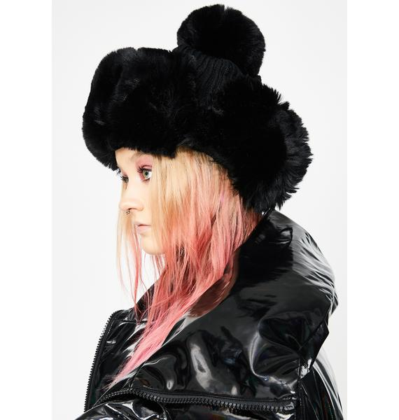 Frozen Blitz Fur Trapper Hat