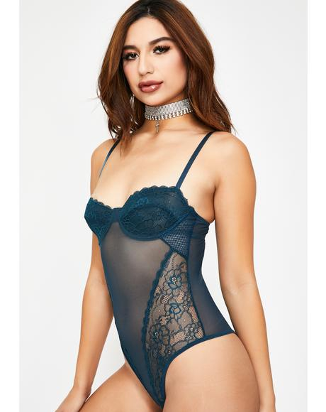 Kush Love Game Sheer Bodysuit