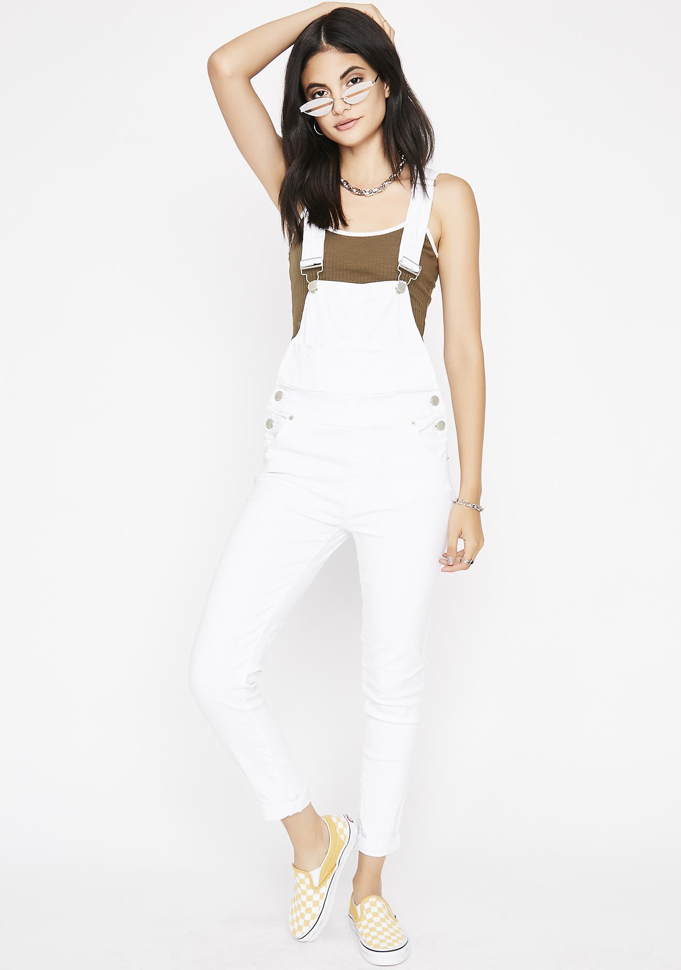 Day One Skinny Overalls