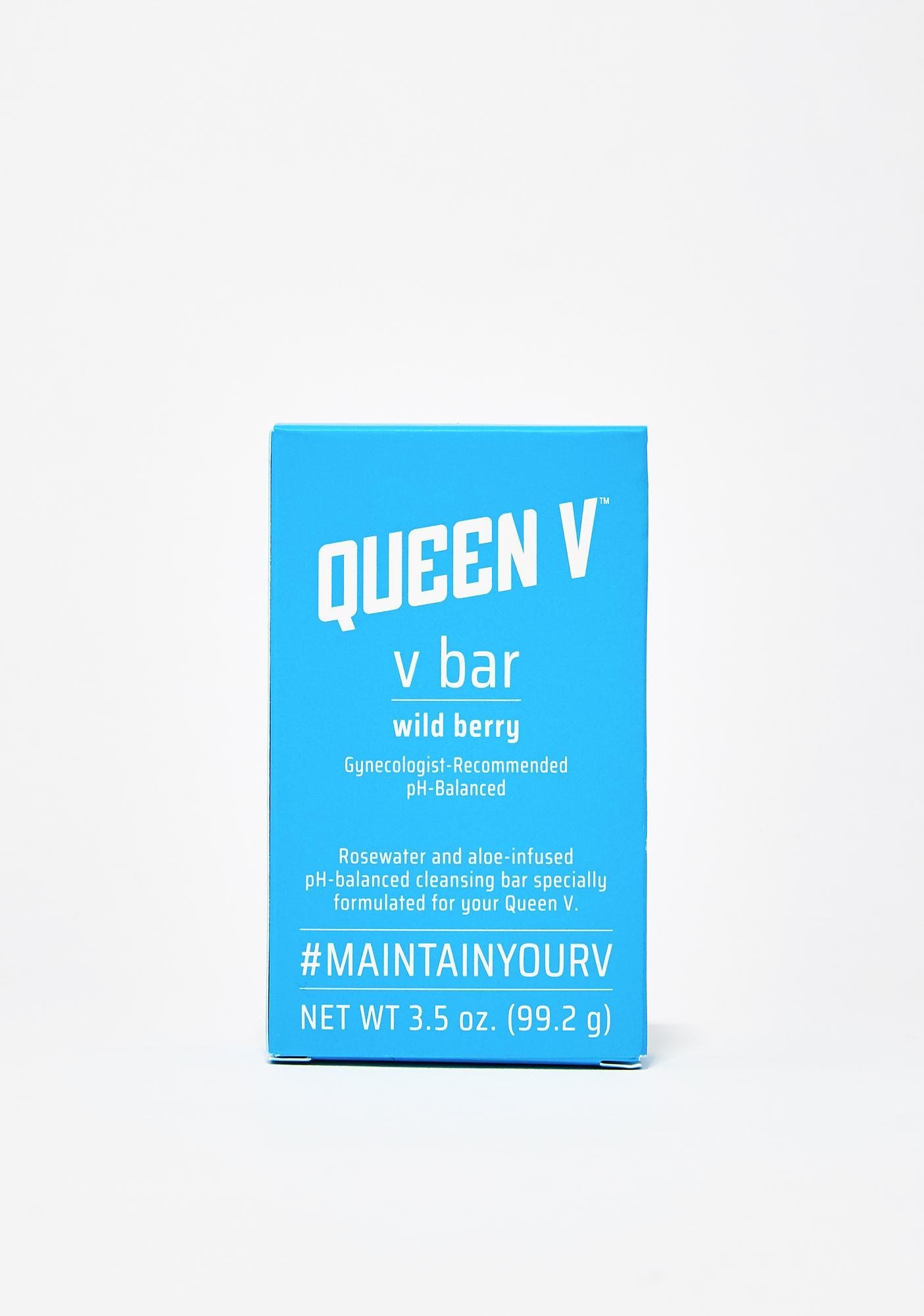 Queen V V Bar pH Balanced Cleansing Bar