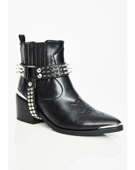 Tenderloin Studded Boots