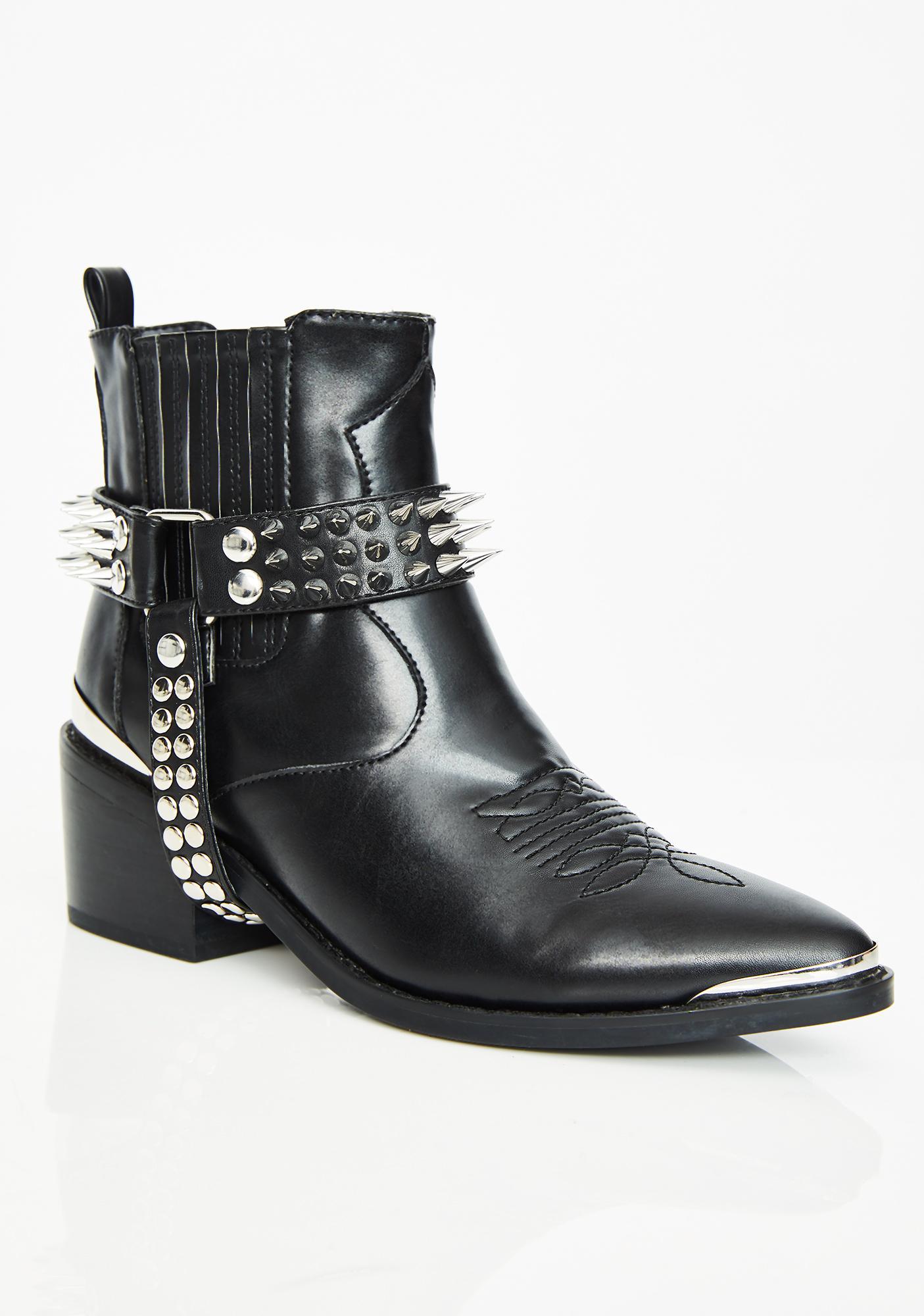 Current Mood Tenderloin Studded Boots