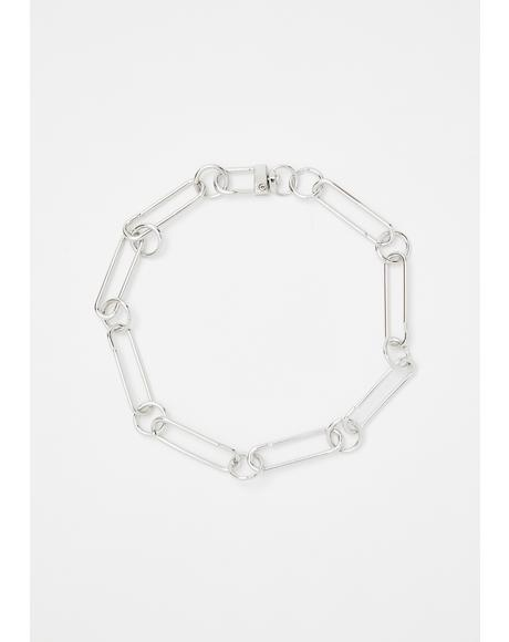Jump Through Hoops Chain Choker