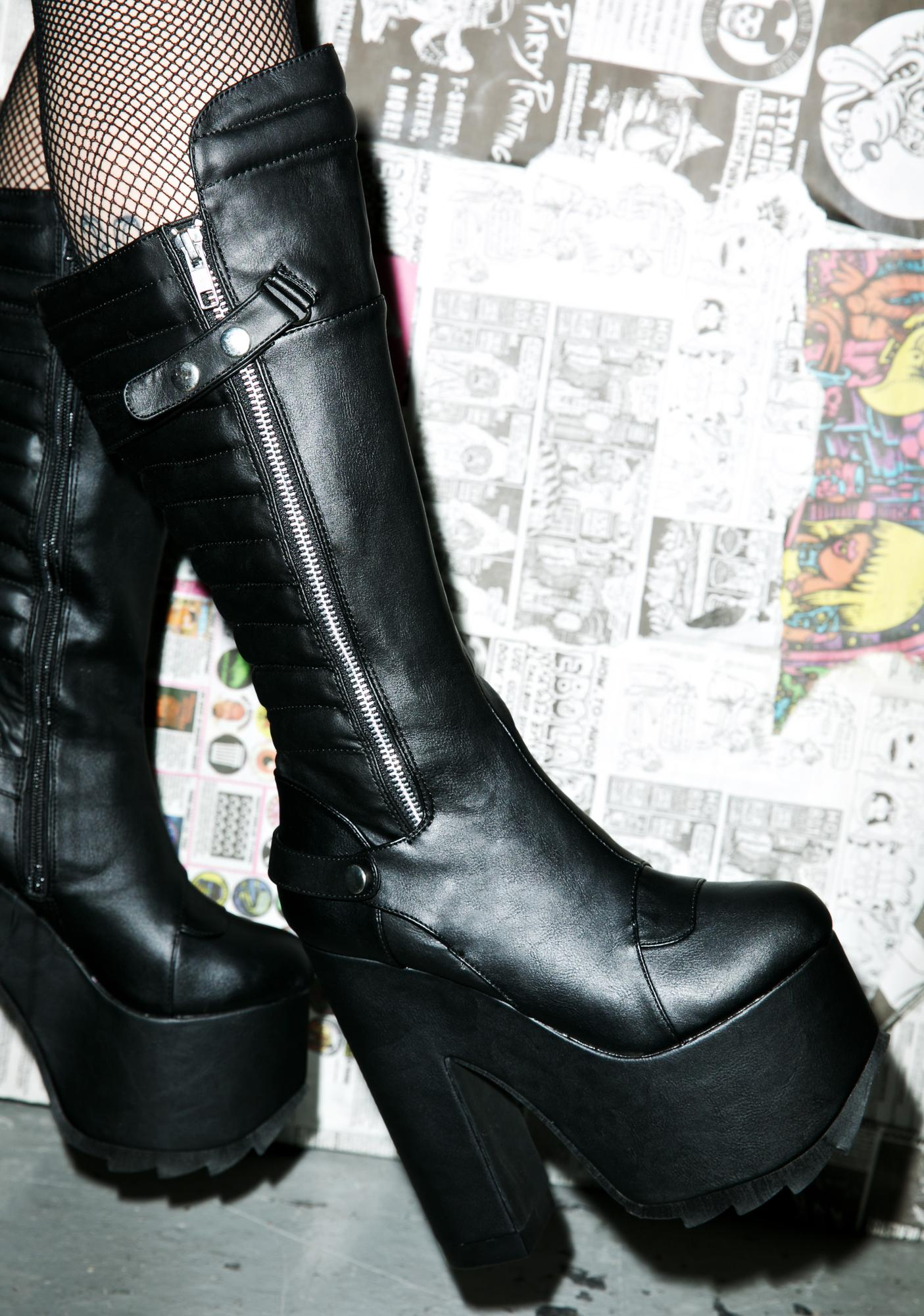 Demonia Ultraviolence Boots