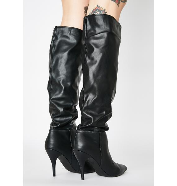 Public Desire Margot Knee High Boots