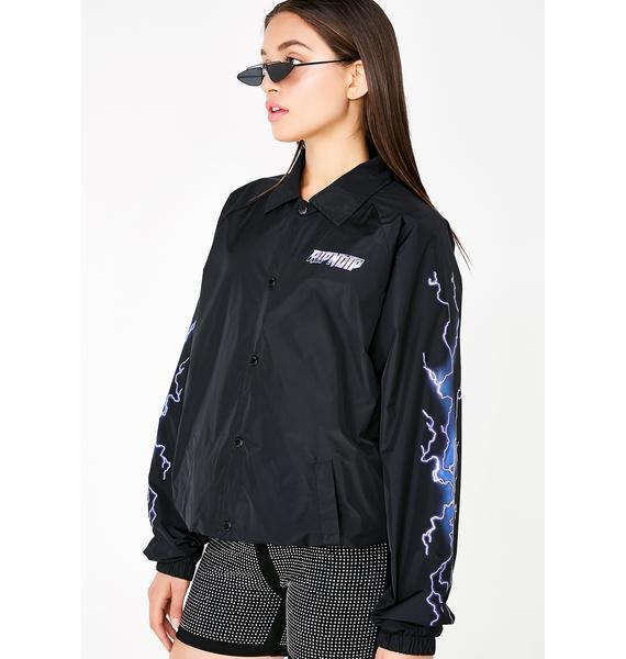 RIPNDIP Rave Nylon Coaches Jacket