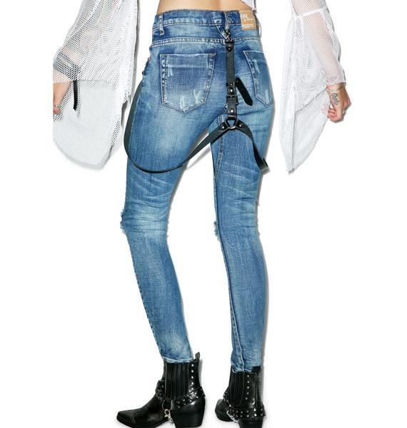 One Teaspoon Pure Bleu Desperados Jeans
