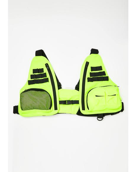 Tactical Neon Vest Bag