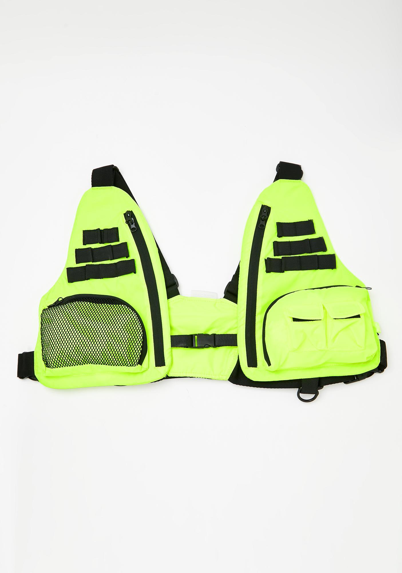 Ziq & Yoni Tactical Neon Vest Bag