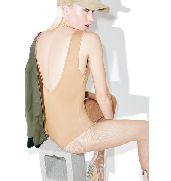 BLQ BASIQ Scoop Back Bodysuit