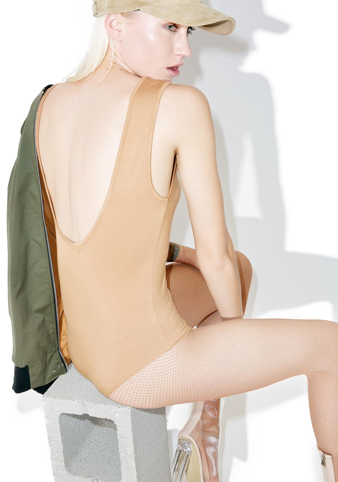 BLQ BASIQ Scoop Back Bodysuit
