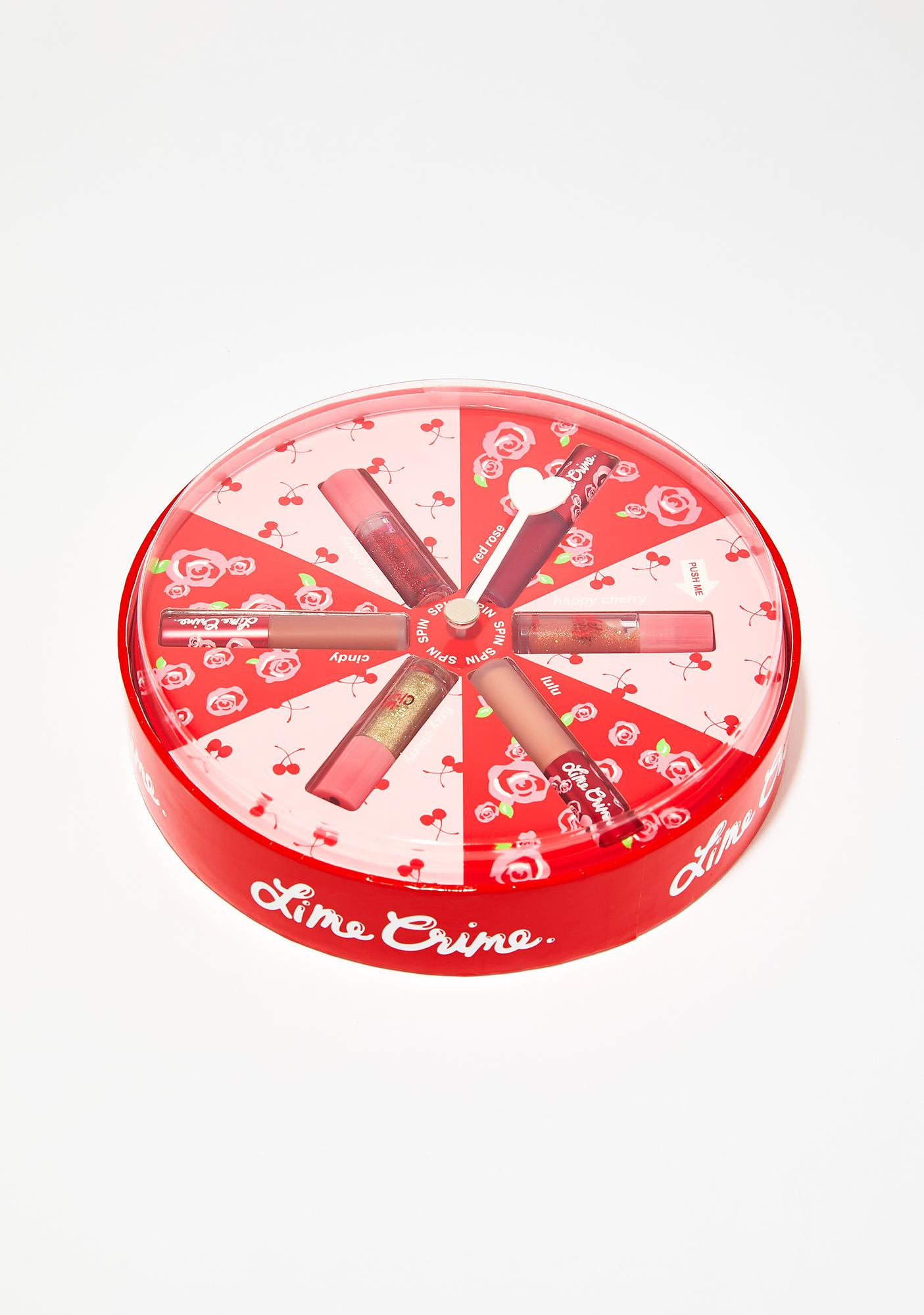 Lime Crime Spin The Dial Lip Set