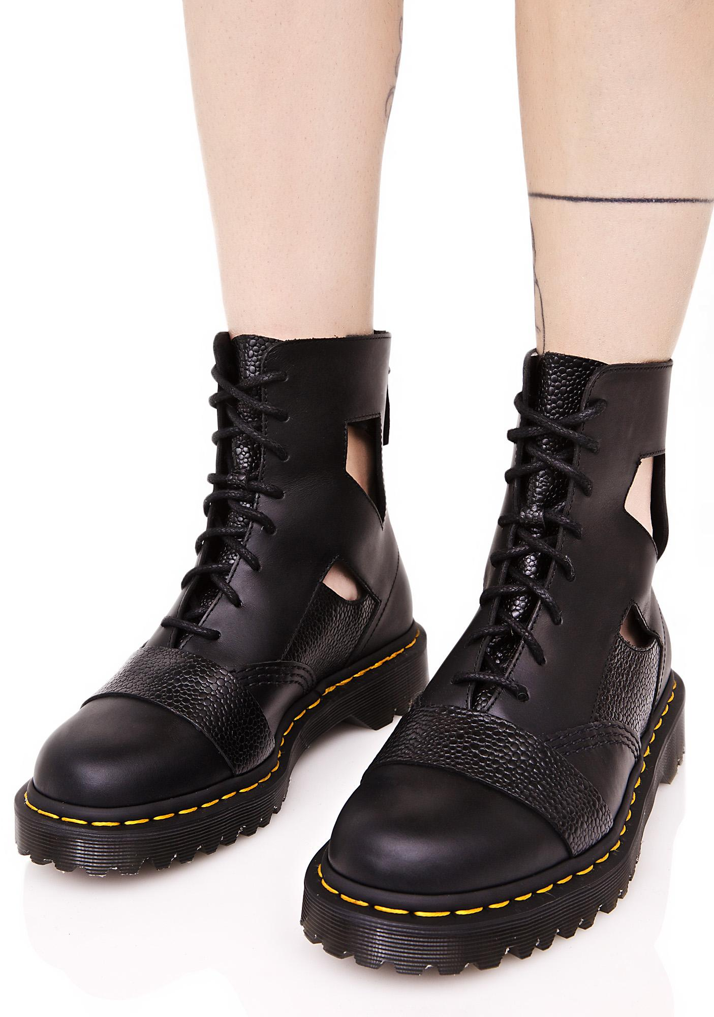 Dr. Martens Katrina Cut Out 8 Eye Boot