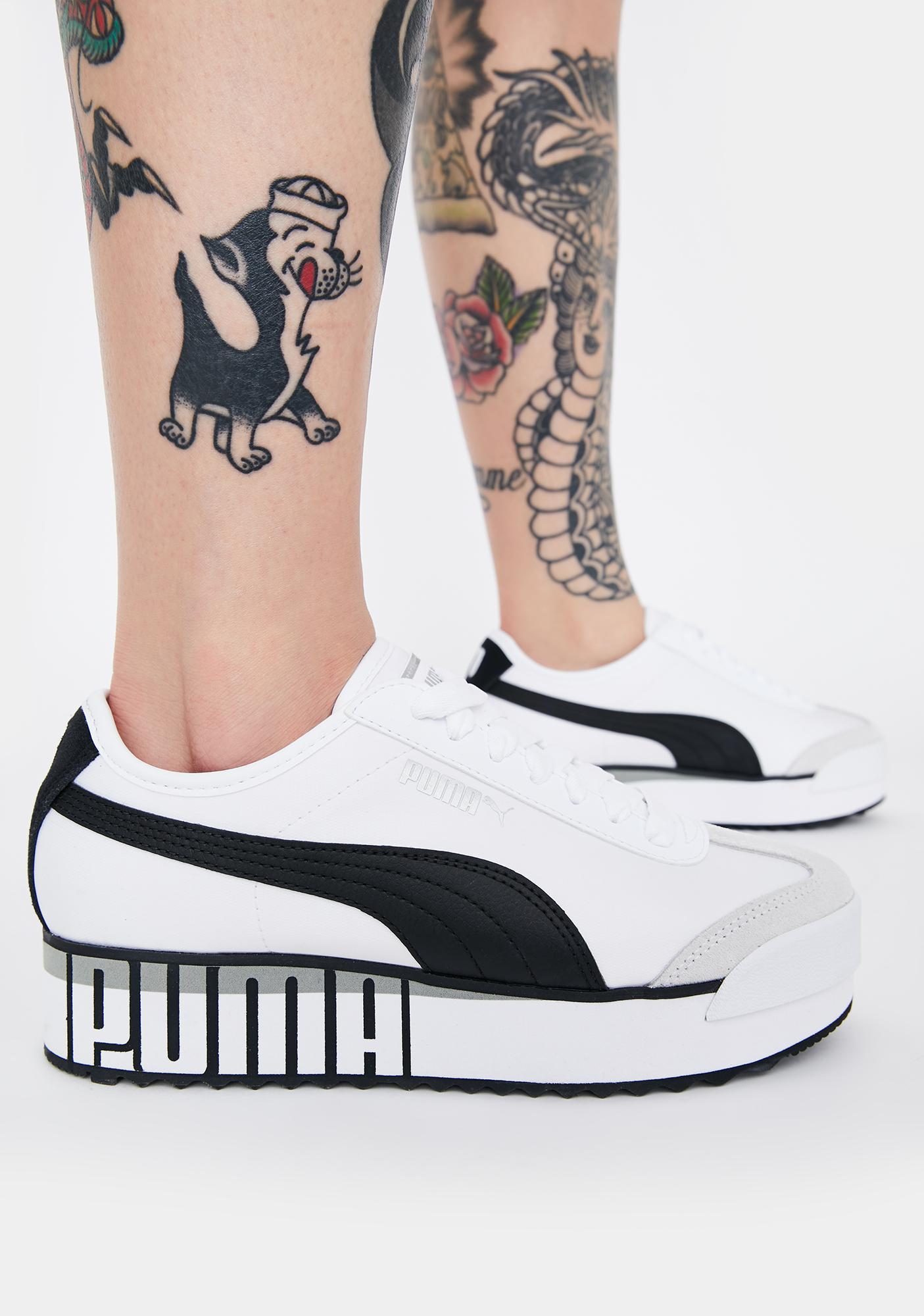 PUMA Roma Amor Logo Sneakers