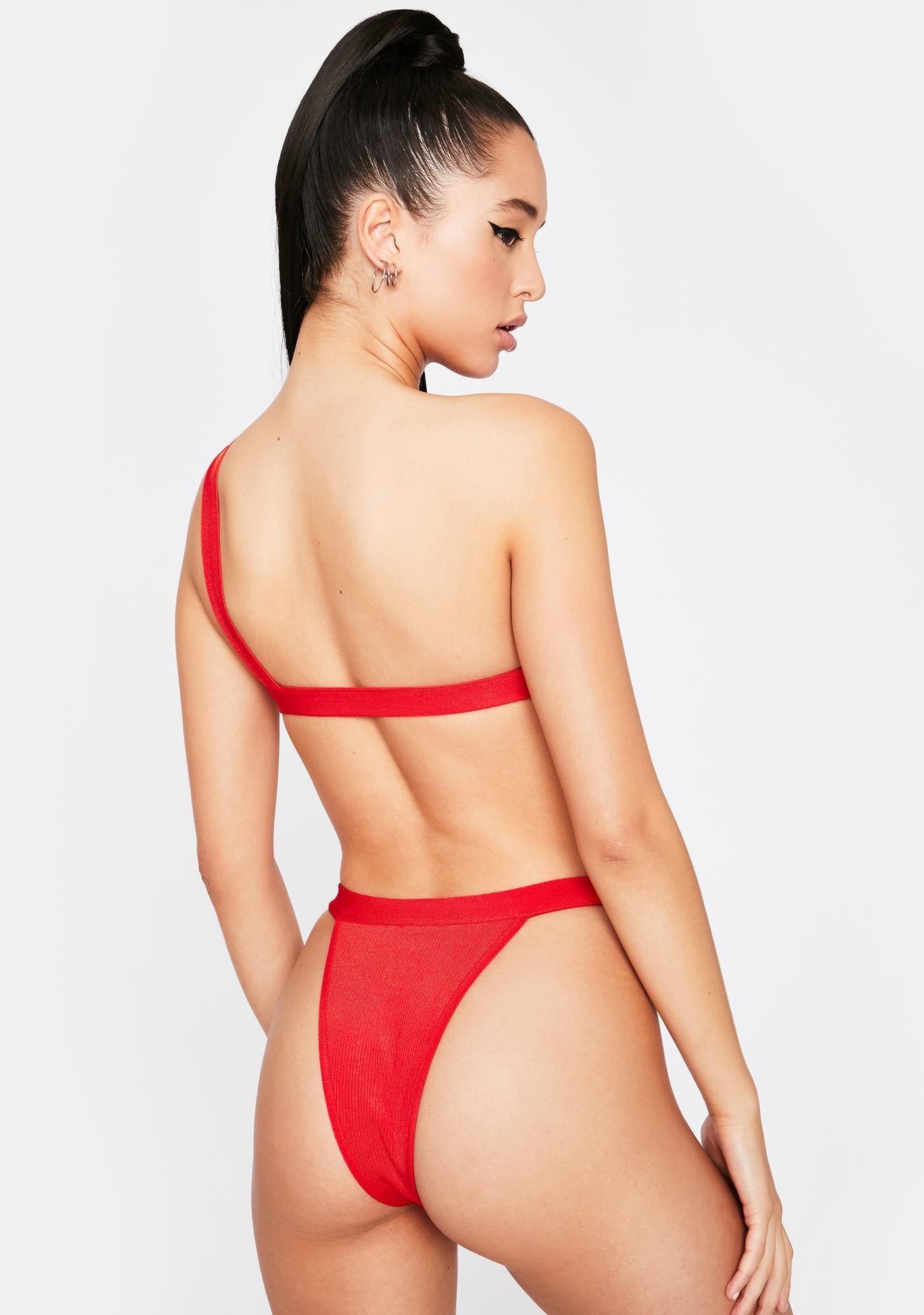 Never Give Up Bikini Set