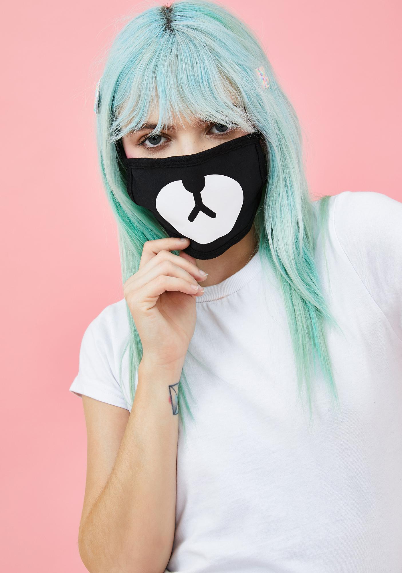 Nuzzled Up Bear Mask