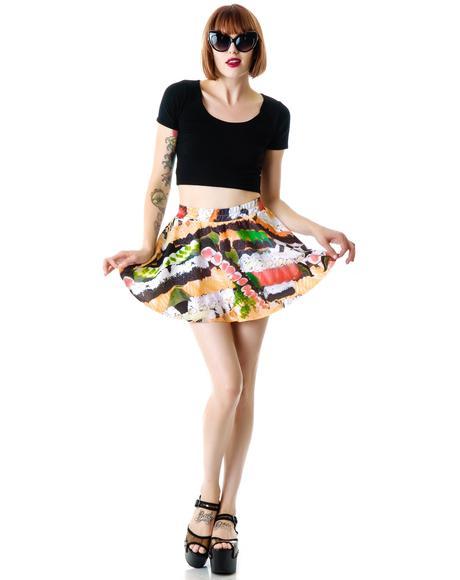 Sushi Skater Skirt