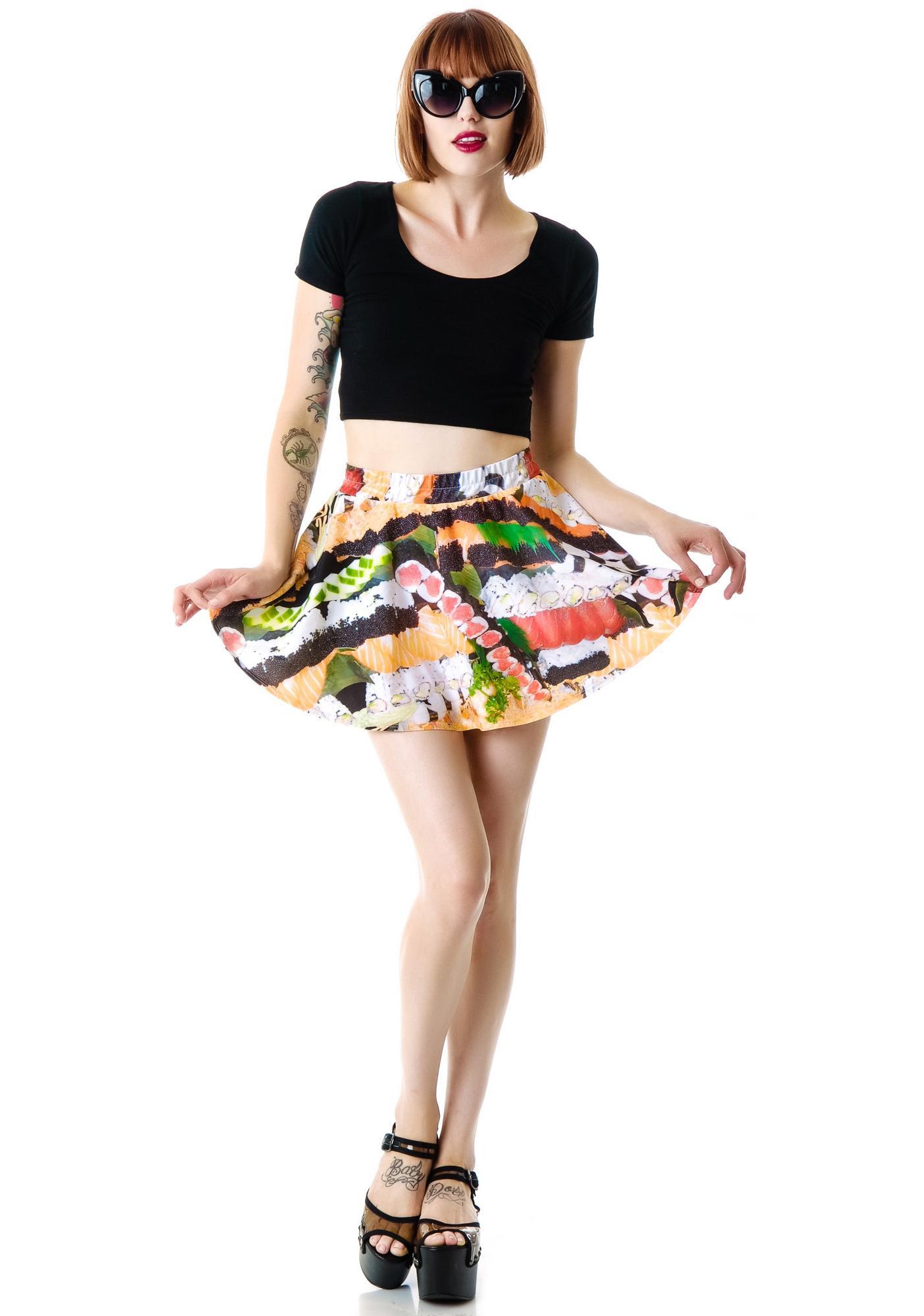 Terez Sushi Skater Skirt