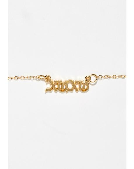Exes N' Hoes Necklace