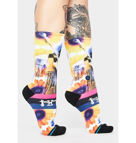 Stance x Jimi Flowers Crew Socks
