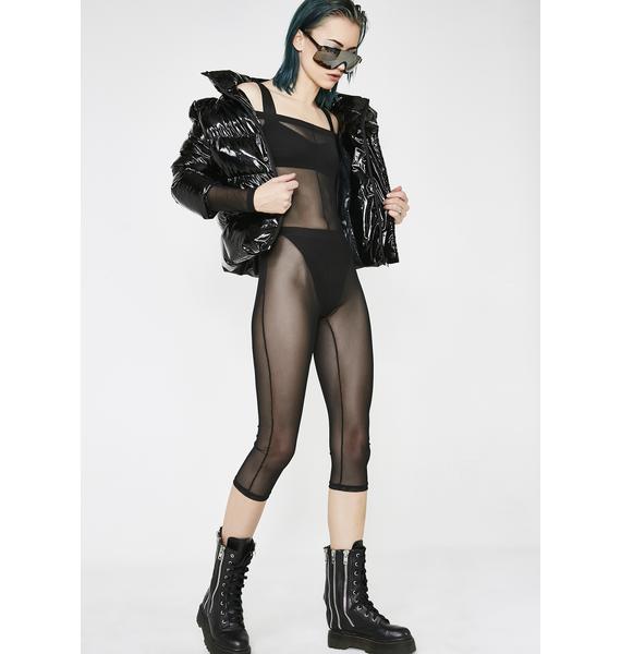 Kiki Riki Stealth Fighter Sheer Catsuit