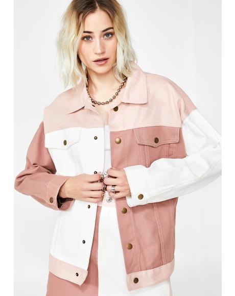 Sweet Colorblock Jacket
