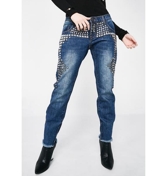 One Teaspoon Limited Edition Freebird Skinny Jeans