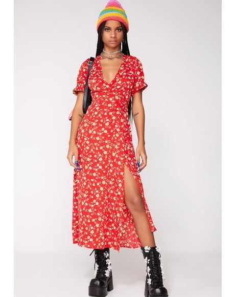 Love Dilemma Wrap Dress