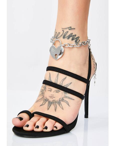 Slay Girl Heart Anklet