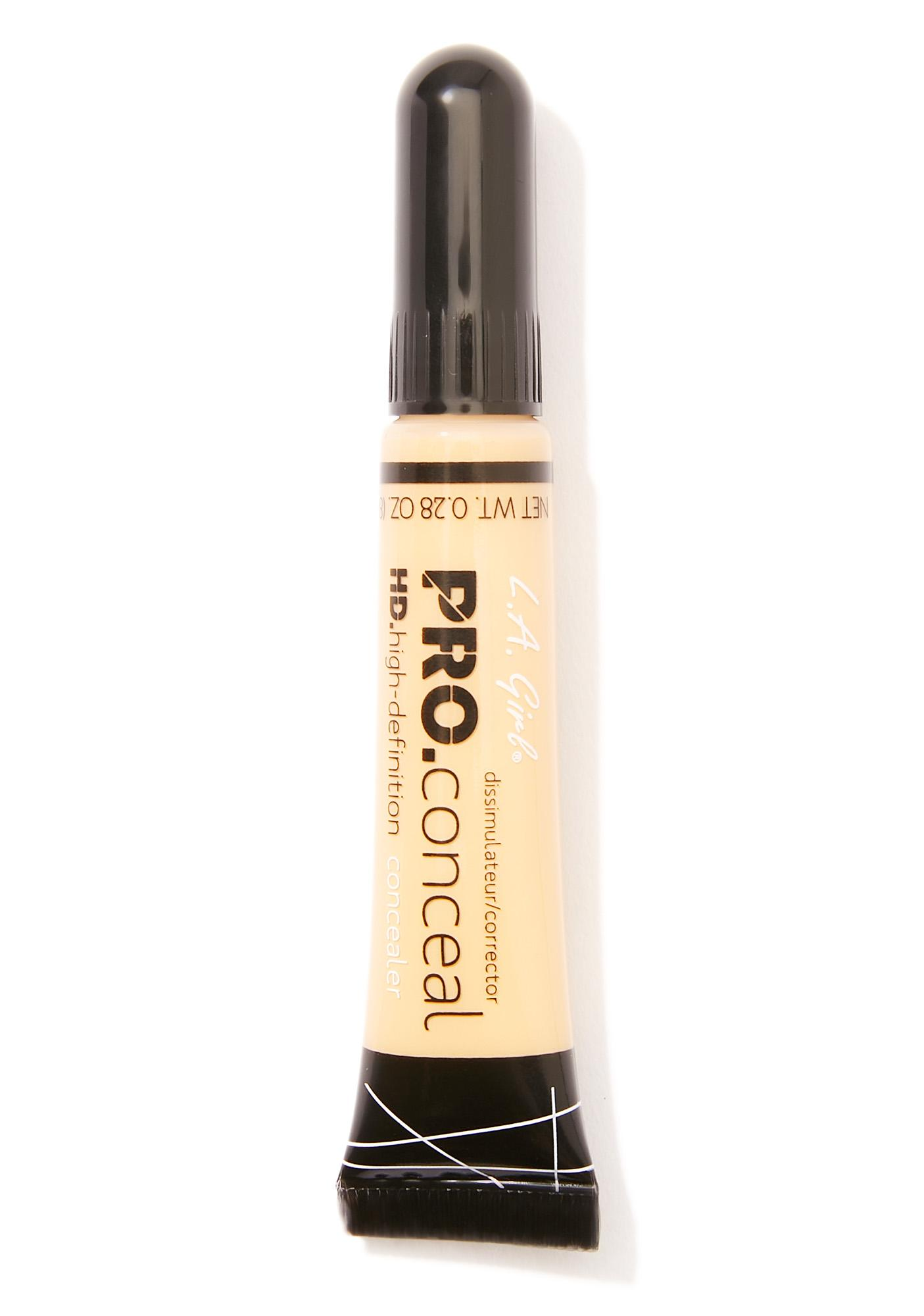 LA Girl HD Pro Yellow Corrector Concealer